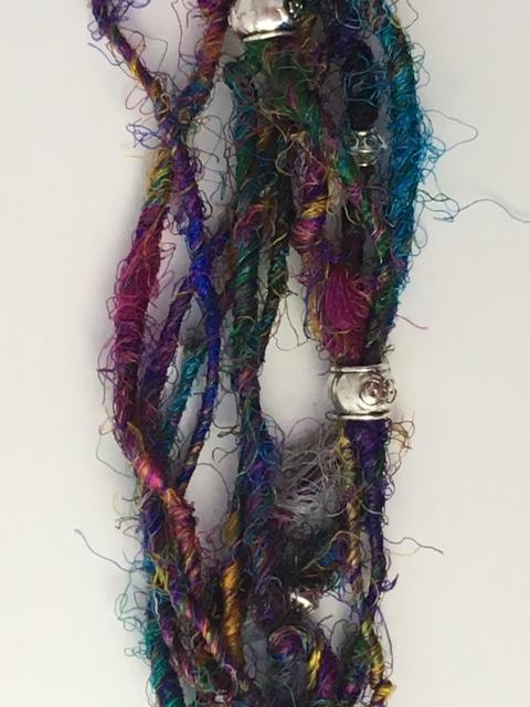 Sari Silk Necklaces